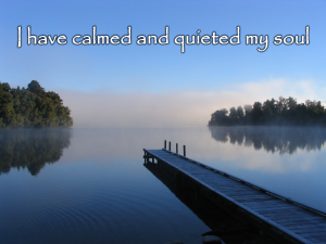 Calm and Quiet